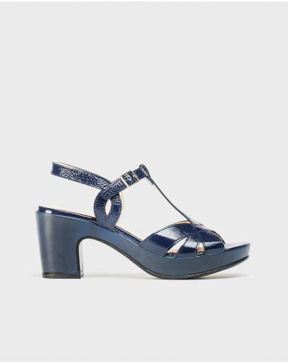 Wonders-Sandals-Platform sandal with straps