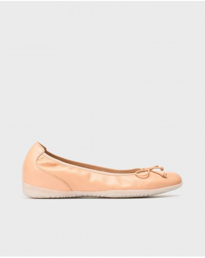 Wonders-New Season-Ballet pump with bow detail
