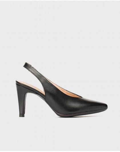 Wonders-Heels-High heeled backless shoe