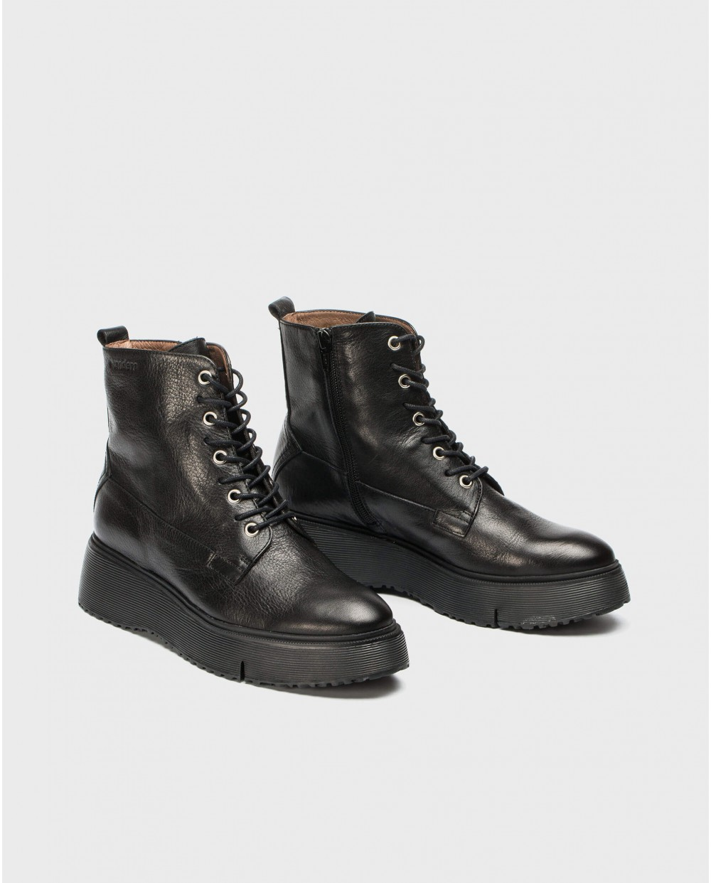Wonders-Ankle Boots-Ankle boot with laces