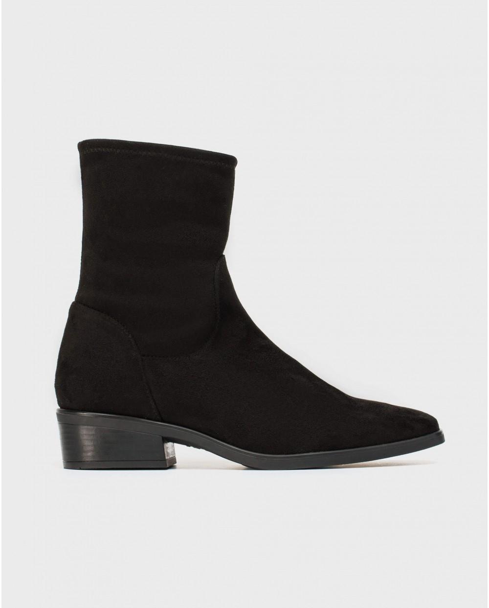 Wonders-Ankle Boots-Elastane sock boot