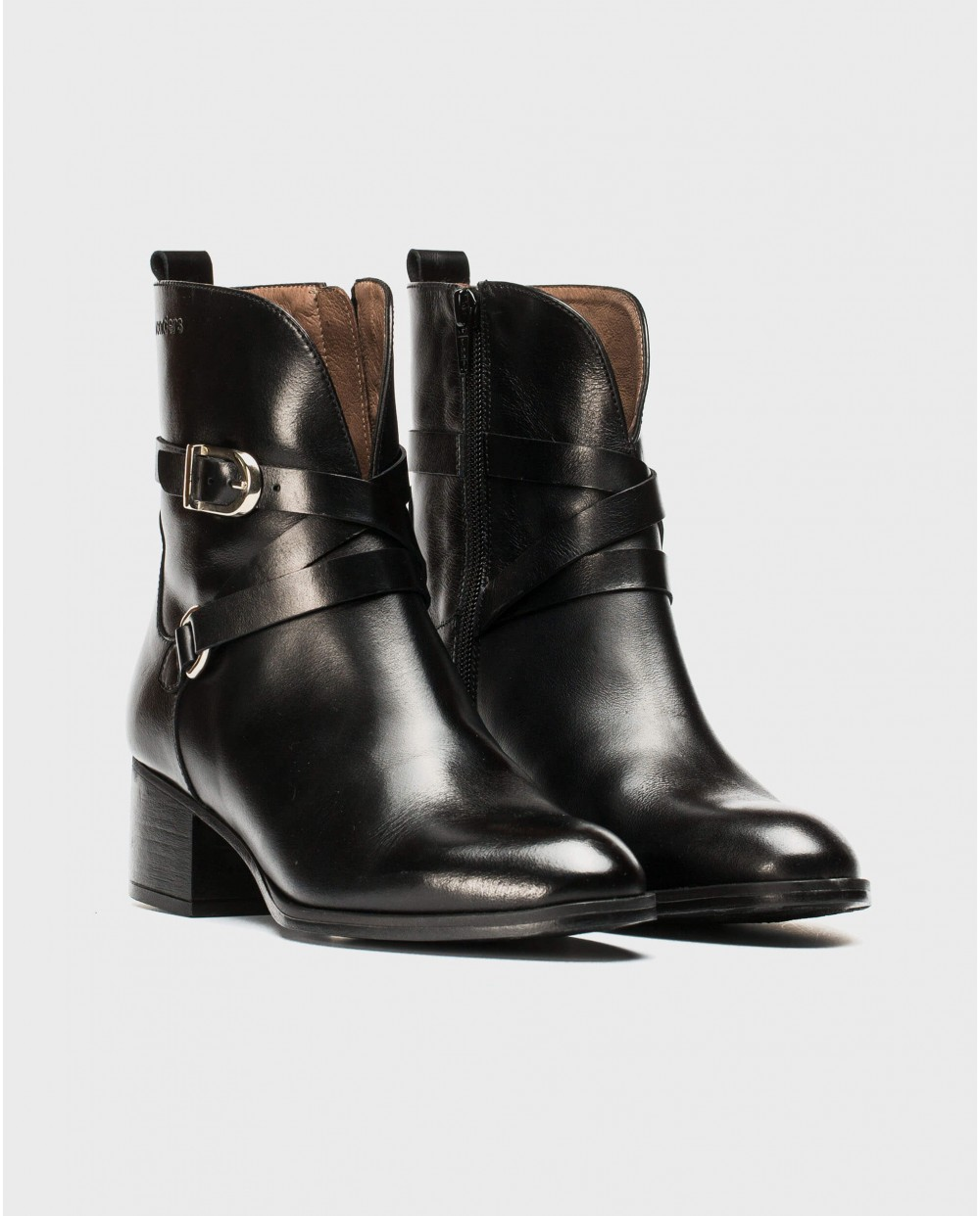 Wonders-Ankle Boots-Ankle boot with double strap