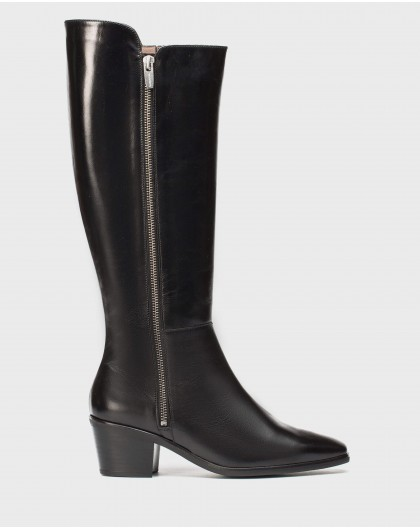 Wonders-Boots-Leather cowboy boot