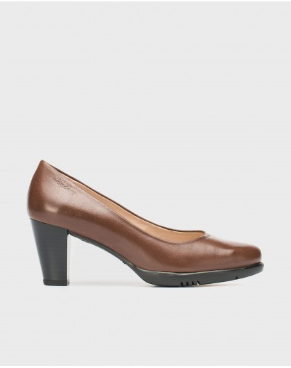 Wonders-Heels-Leather court shoe