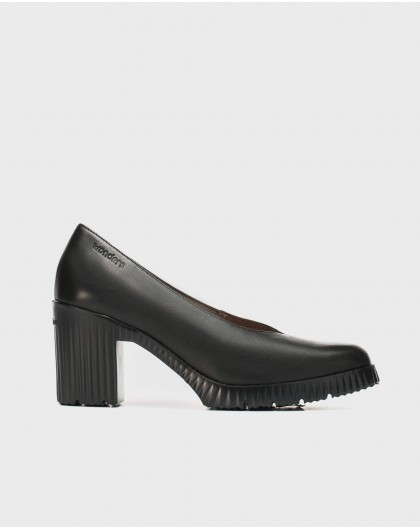 Wonders-Heels-Shoe with open throat