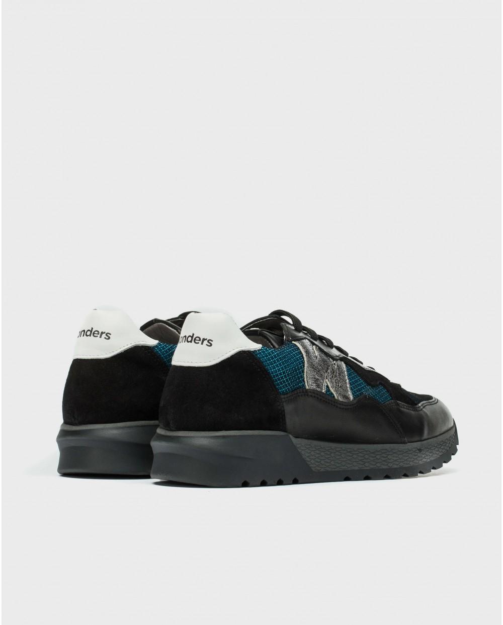 Wonders-Sneakers-Sneaker with leather logo