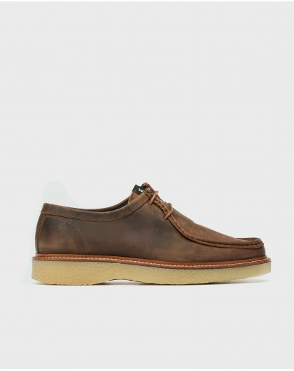 Leather Wallabee shoe