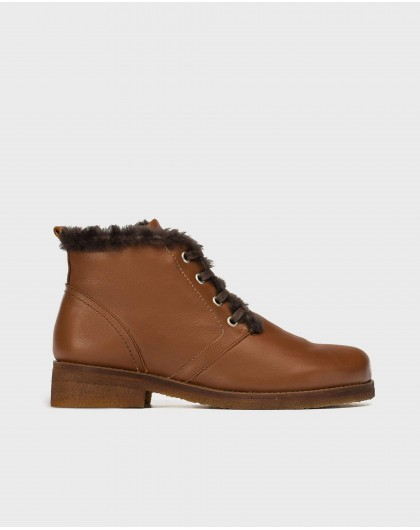 Wonders-Outlet-Ankle boot with fur
