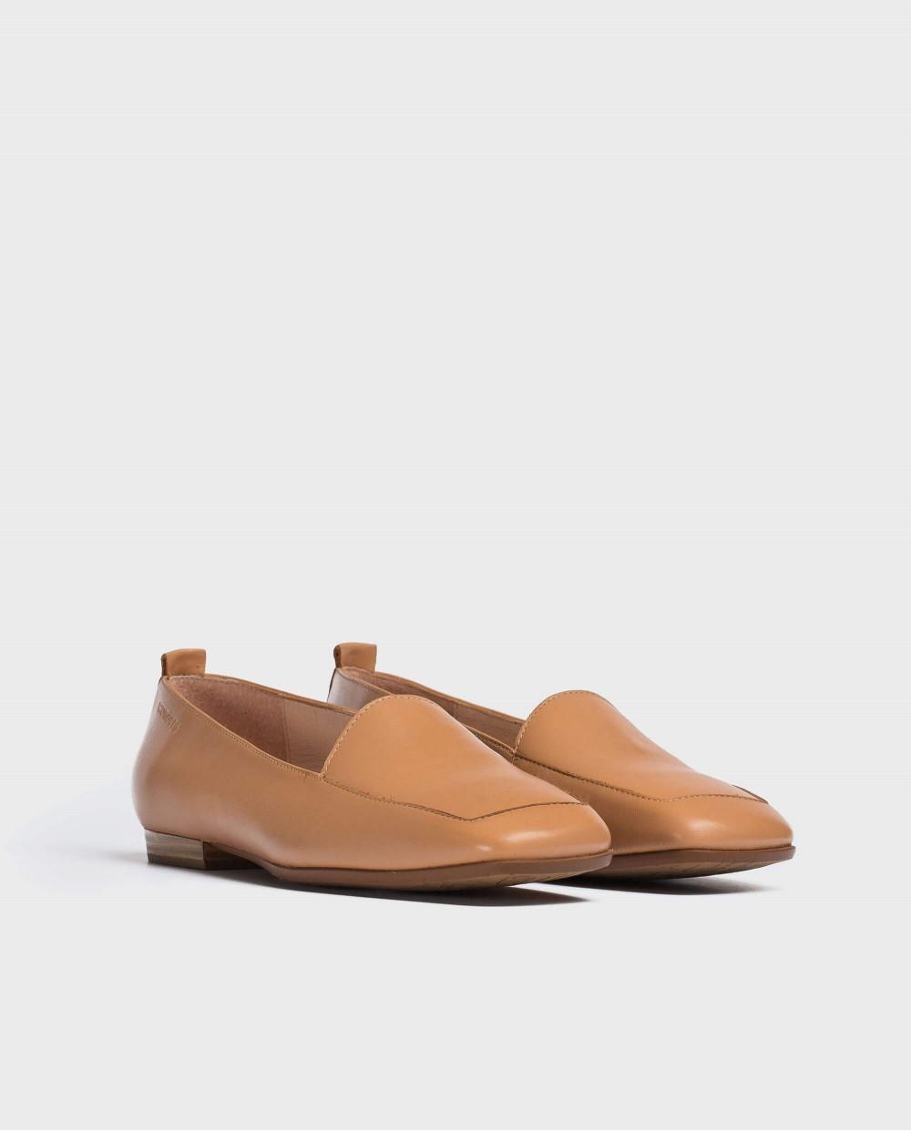 Wonders-Women-Flat leather shoe