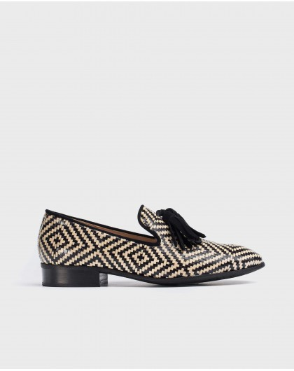 Wonders-New Season-braided leather moccasin