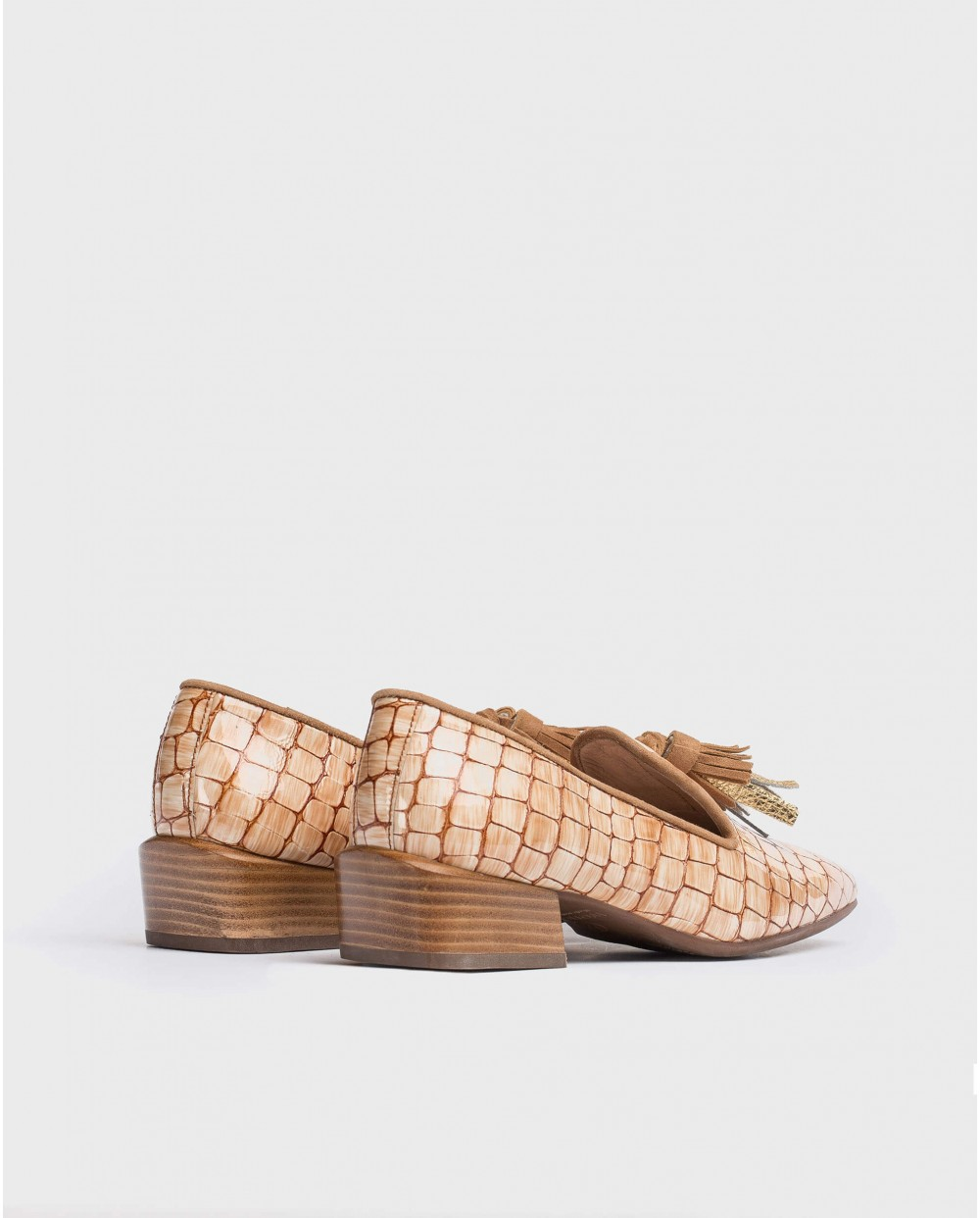 Wonders-Women-Moccasin with leather tassels