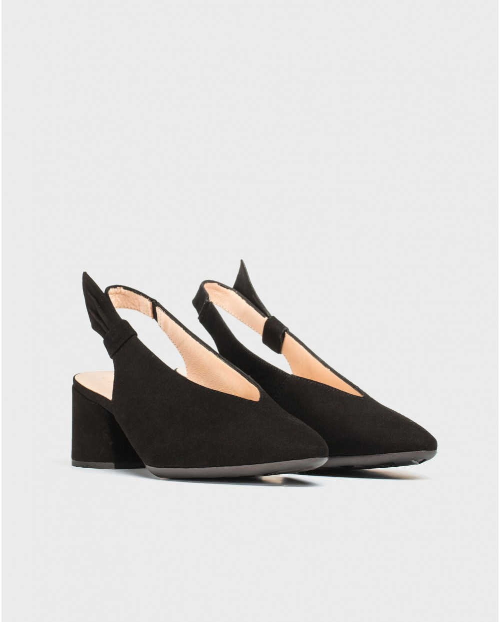 Wonders-Women-Leather shoe with bow