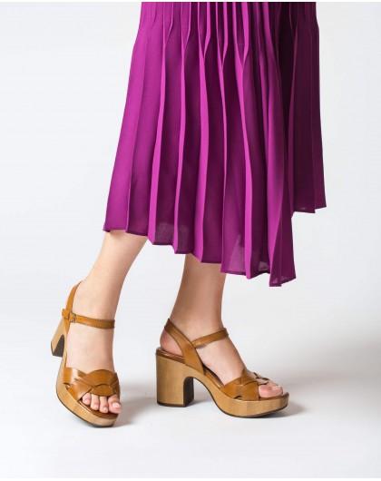 Wonders-Women-Plaited platform sandal