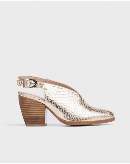Wonders-Heels-Leather cowboy shoe