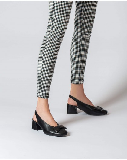 Wonders-Outlet-High heeled shoe with a bow
