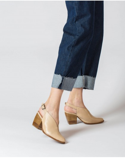 Wonders-Heels-Leather Boot shoe