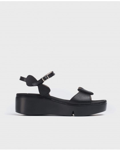 Wonders-Sandals-Wedge sandal with wave