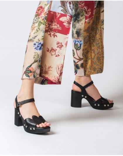Wonders-Sandals-Plaited leather sandal