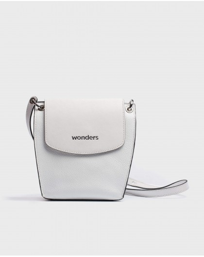 Wonders-Bags-Leather crossbody handbag