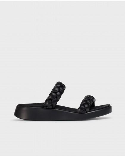 Wonders-Sandals-Plaited padded sandal