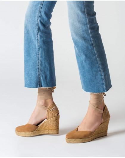 Wonders-Women-Jute sandal with straps