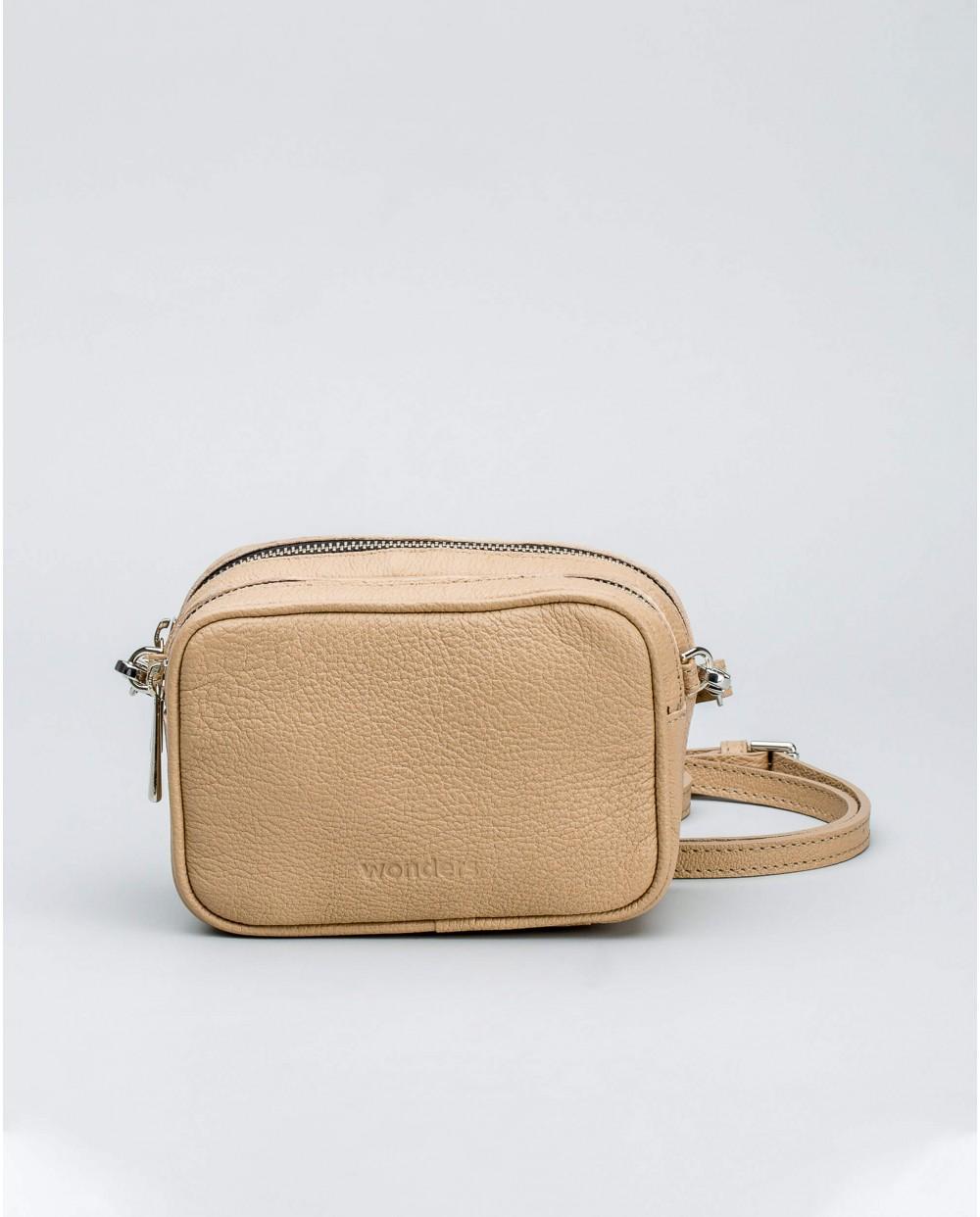 Wonders-Outlet-Mini handbag in pebble leather