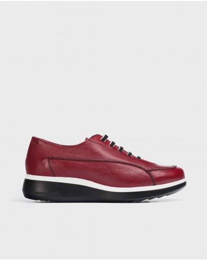 Wonders-Flat Shoes-Red Boom Sneaker