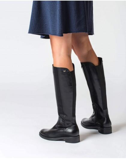 Wonders-Boots-Black Rocío Boot