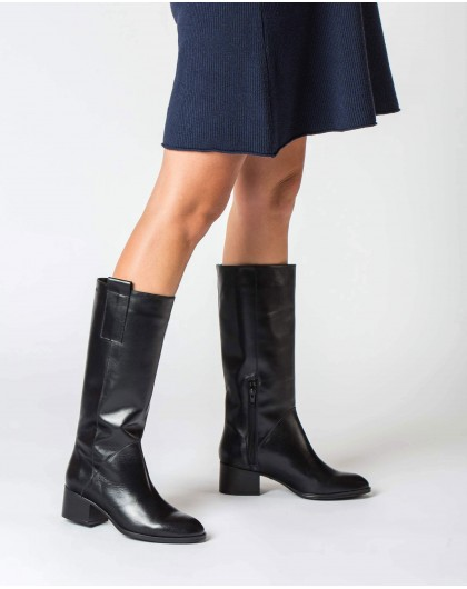 Wonders-Boots-Black Rodeo Boot
