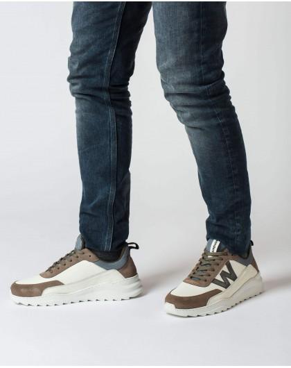 Wonders-Sneakers-White Finn Sneaker