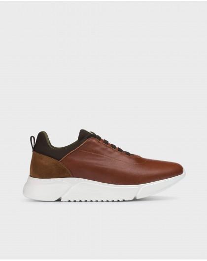 Wonders-Sneakers-Brown Alan Sneaker