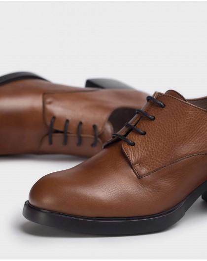 Wonders-Heels-Brown Carlota Shoe