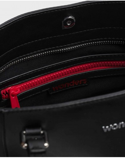 Wonders-Bags-Black Zuri Bag