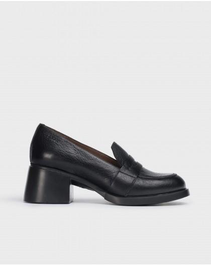 Wonders-Heels-Black shoes Durham