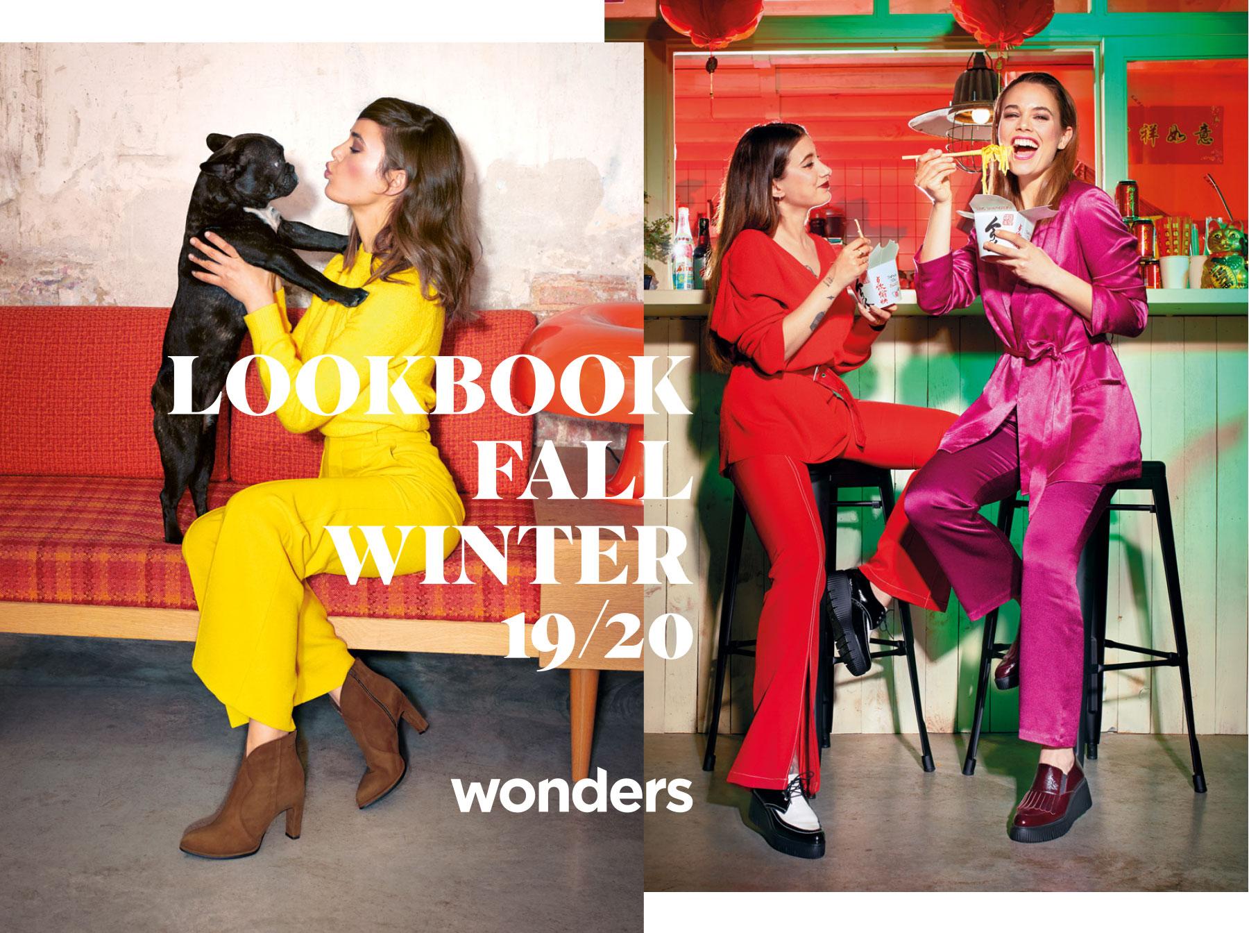 New Autum / Winter collection | Lookbook | Wonders com