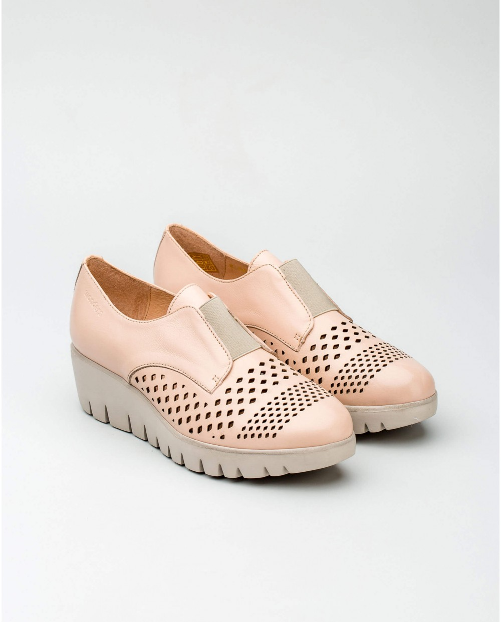 Wonders-Collections-Leather loafer mule