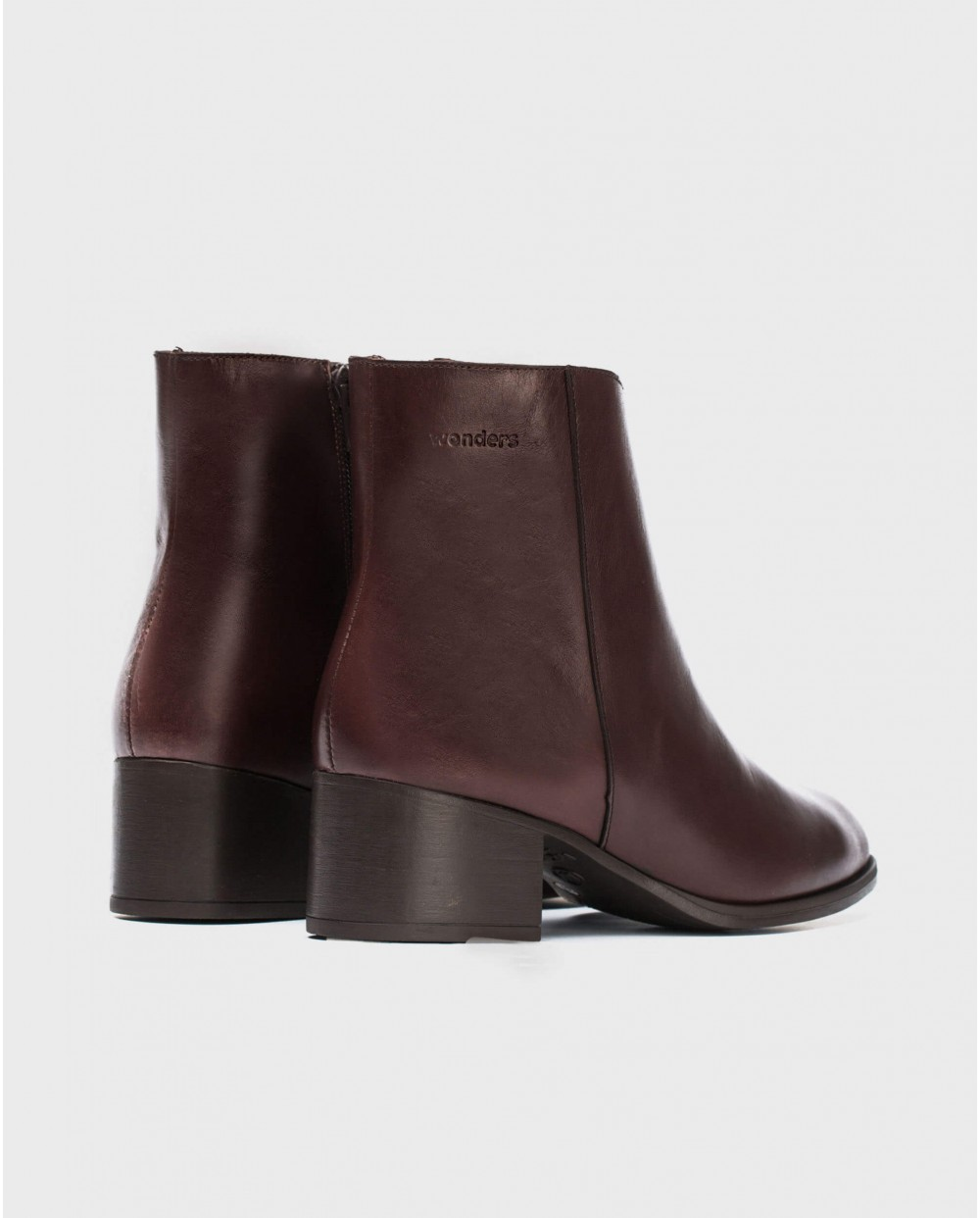 Wonders-Ankle Boots-Leather ankle boot