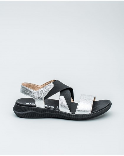 Wonders-Outlet Women-Sandal with Velcro strap