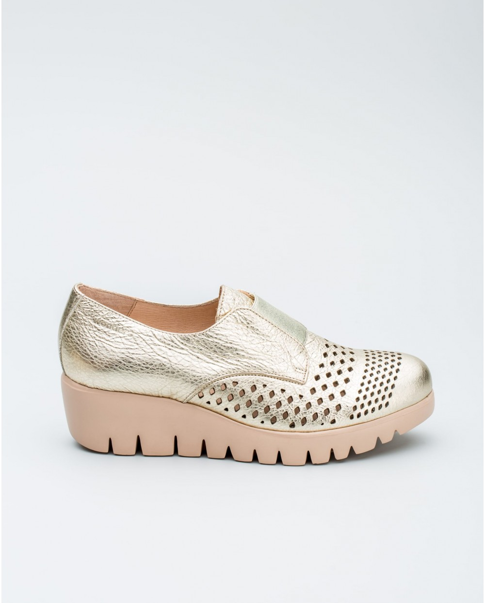Wonders-Collections-Loafer with wave throat
