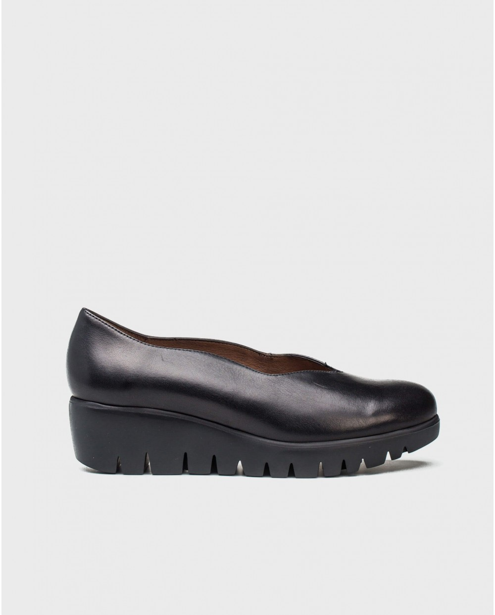 Wonders-Wedges-Leather moccasins