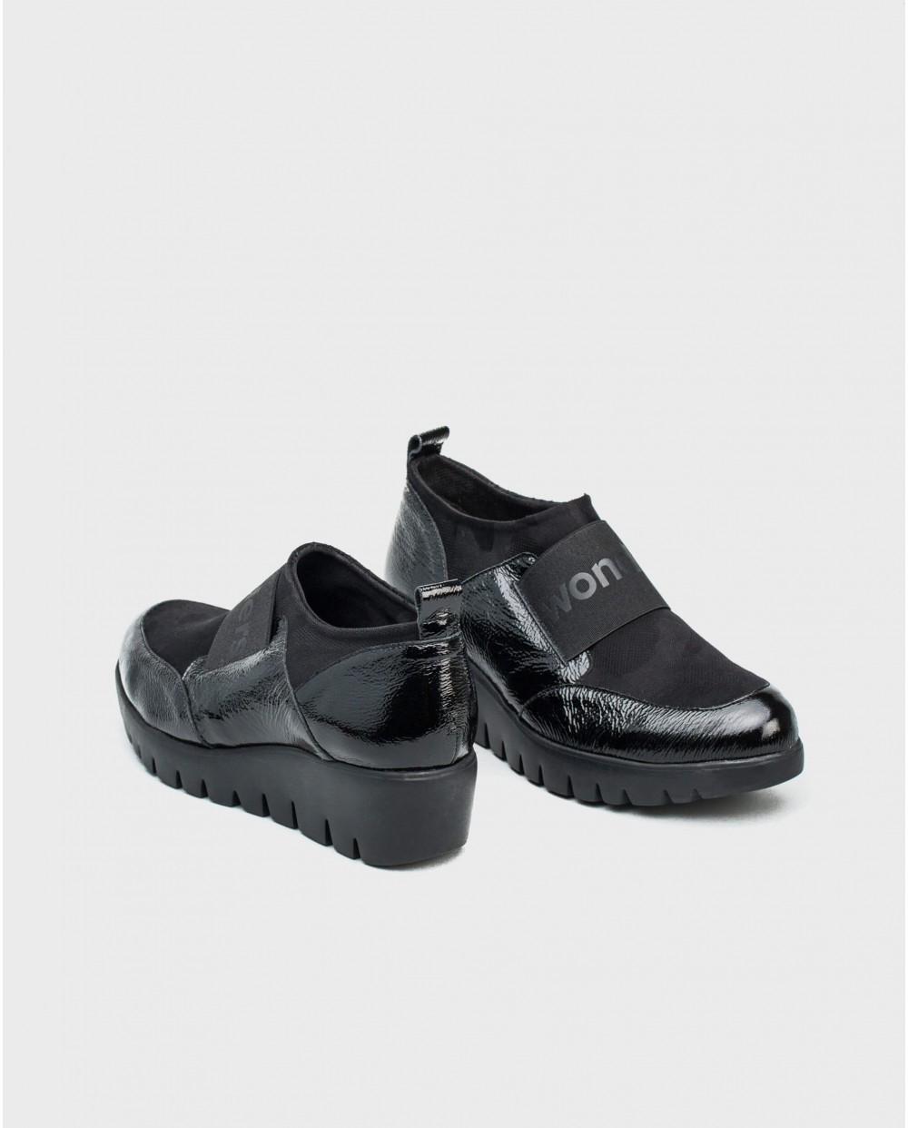 Wonders-Sneakers-Lycra sneaker with band