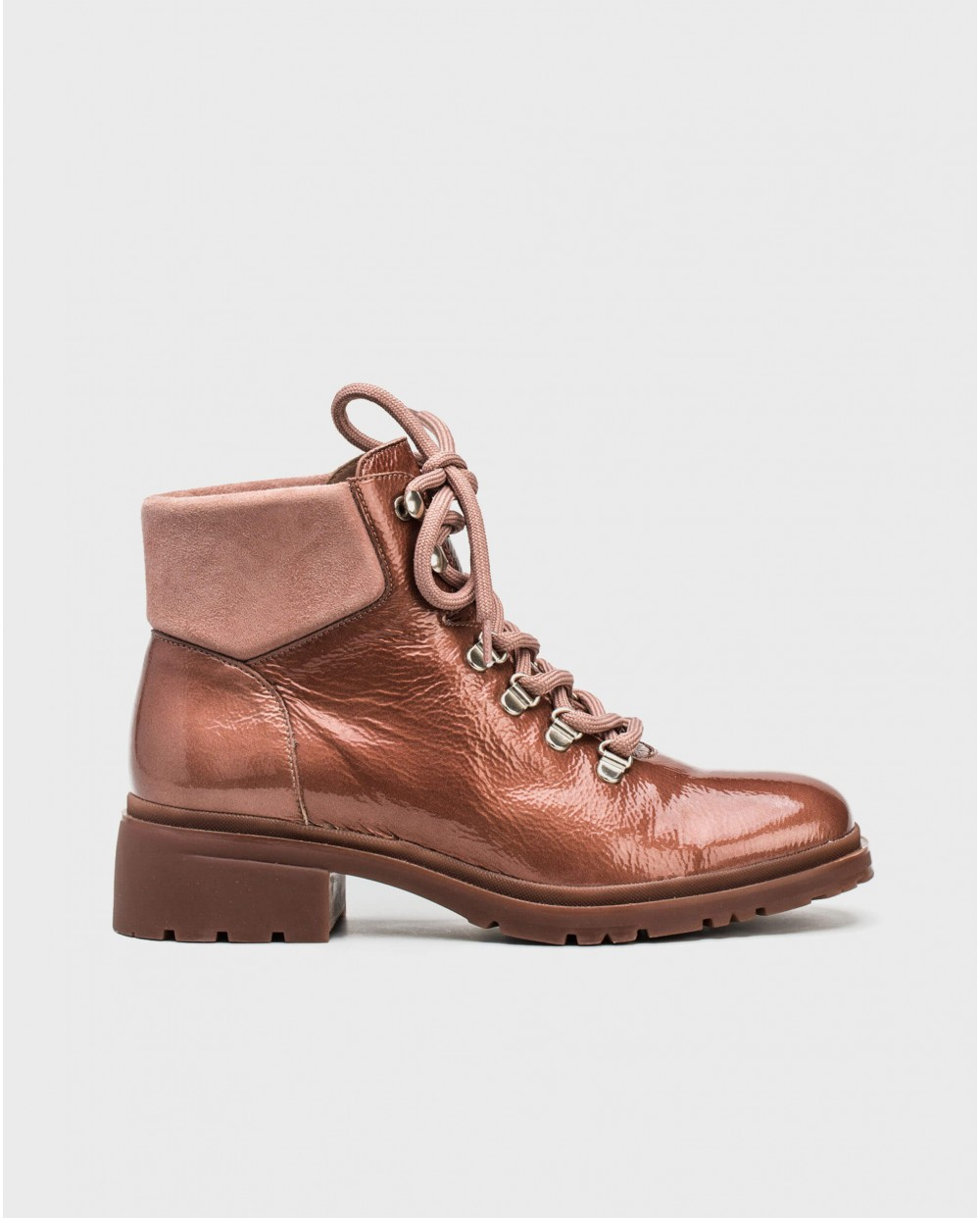 Wonders-Outlet Women-Leather ankle boots mix
