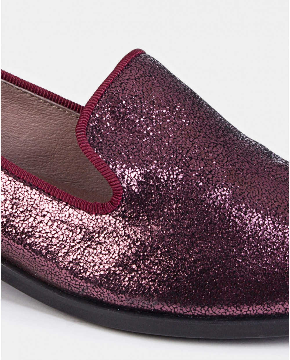 Fantasy leather loafers