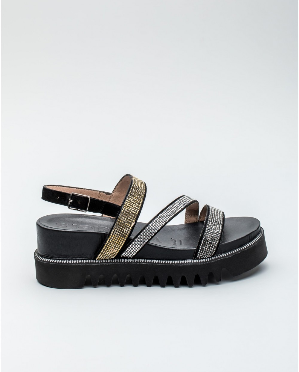 Wonders-Outlet Women-Loafer with inlaid detail