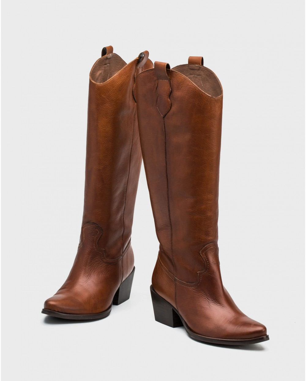 Wonders-Boots-Engraved leather cowboy boot
