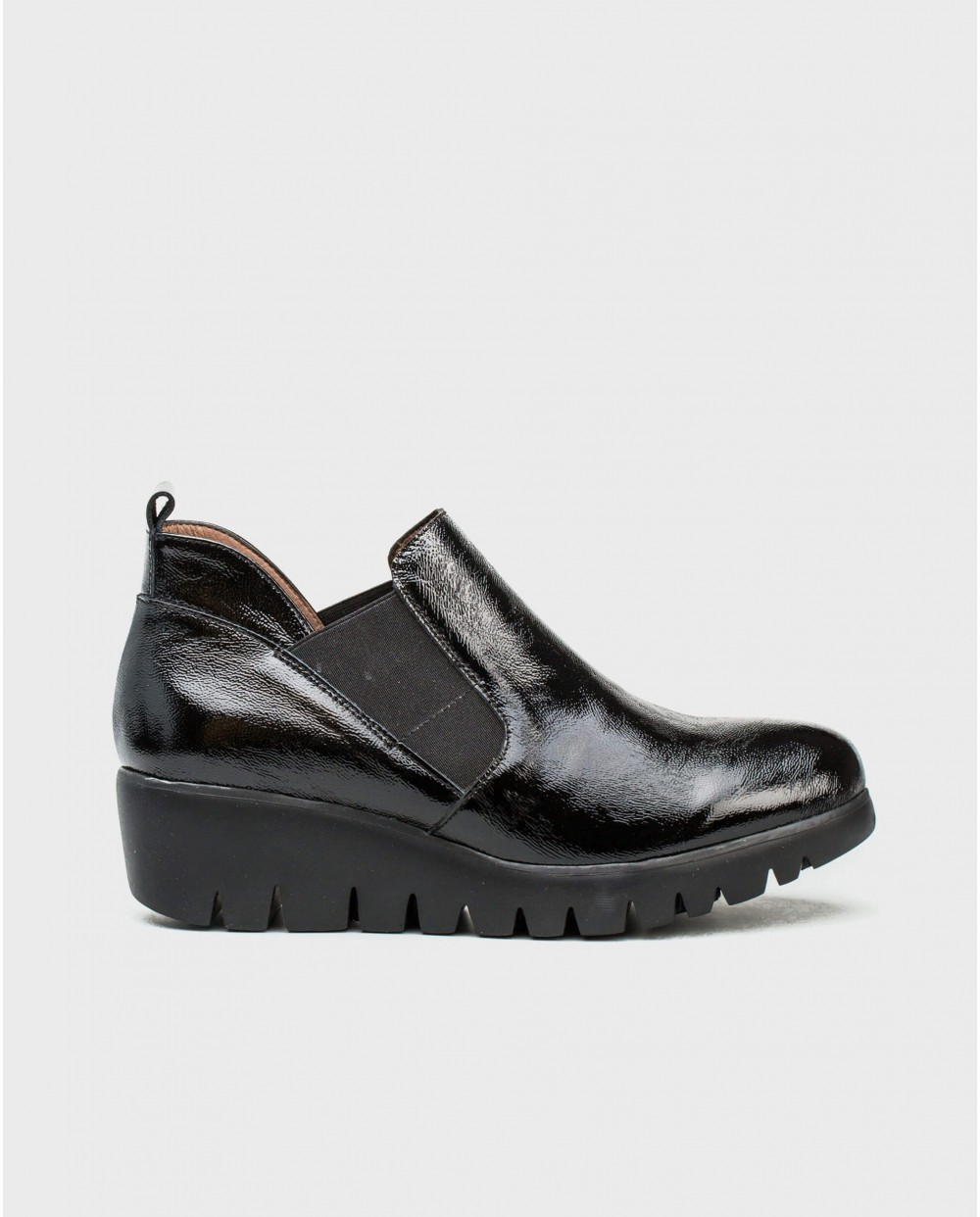 Wonders-Ankle Boots-Patent leather ankle boot