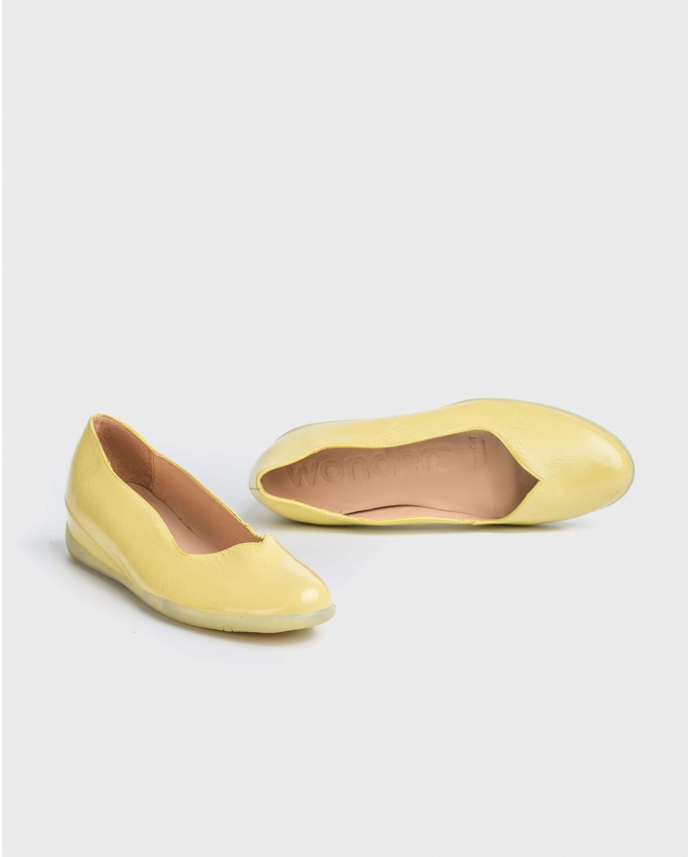 Wonders-Flat Shoes-Wave ballet pump