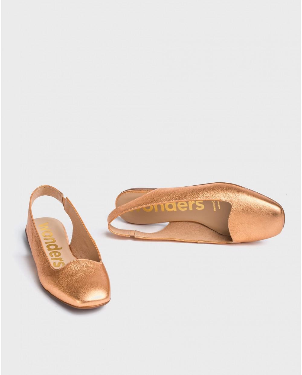 Wonders-Flat Shoes-Backless flat shoe