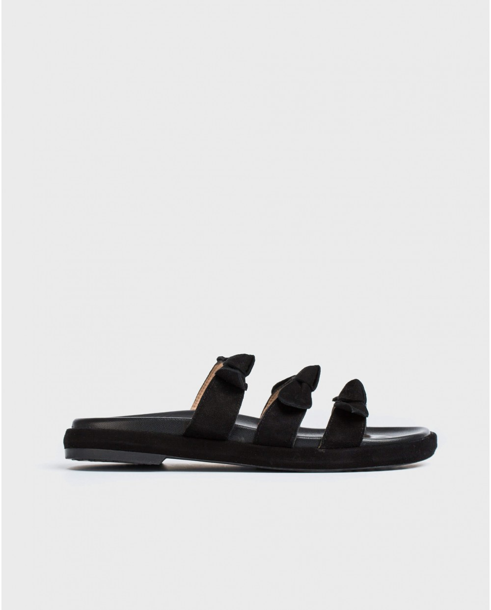 Wonders-Sandals-Flat sandals with bows