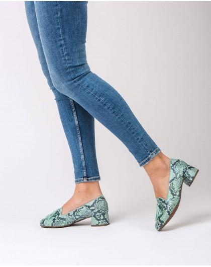 Wonders-Zapatos planos-Bailarina tacón borla